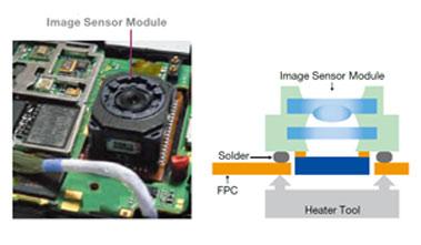 Camera Module assembly reflowsoldering