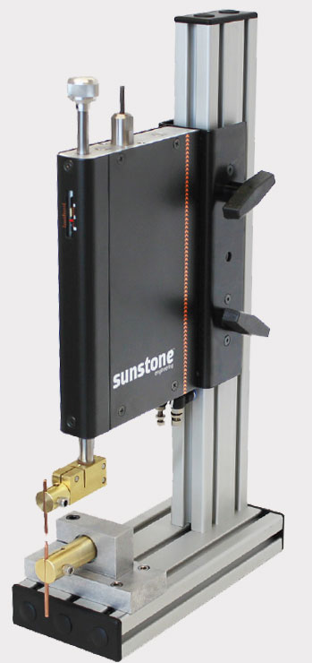 sunstone opposed weld head with power supply